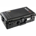 "Pelican 1605AIR Watertight Case With Pick-N-Pluck Foam, 28-7/8""x 16-13/16"" x 9-1/8"", Black"