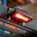 "LED Forklift ""Red Zone"" Side-Mount Pedestrian Safety Warning Light"