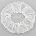 "Polypropylene Bouffant Cap, 24"", White, 100/Bag"
