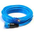 Siècle D14414050BL ProLock rallonge, SJTW 14/3, 50', éclairé se termine, bleu