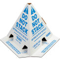 "Global Industrial™ ""Do Not Stack"" Pallet Cones - English"