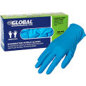 Global Industrial™ Nitrile Gloves, Exam Grade, Powder Free, Blue, 4 MIL, 100/Box, Large