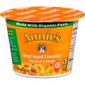 Annie's Aged Cheddar Mac and Cheese, 2.01 oz., 12/Carton