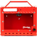 Master Lock® S3650 Group Lock Box, Wall Mounted, Red