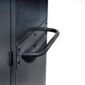 Sandusky Cabinet Push Handle TSH, Charcoal