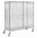 Nexel® Wire Security Storage Truck 60 x 24 x 69 1200 Lb. Capacity