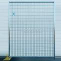 Soudés de clôture métallique, laqué époxy - 5' Wx6'H 8 panneau Kit
