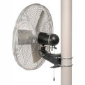 TPI IHP30-PM, 30 Inch Pole Mount Fan Non Oscillating 1/3 HP 5400 CFM 1 PH TE Motor