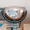 Miroir hémisphérique de plafond,180°, diamètre de 18 po