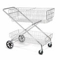 Global Industrial™ Best Value Wire Utility Basket Mail Cart 200 Lb. Capacity