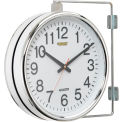 Global Industrial™ Wall Clock Double Sided Battery Operated
