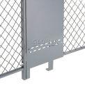 Remplissage-A-Gap panneau réglable pour 8' Wire Mesh Partition
