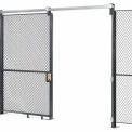 Treillis métallique portail coulissant - 8 x 5