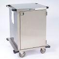 """Lakeside® 6940 porte simple en acier inoxydable affaire Cart, 30"""" L x 29"""" L x 39 """"H"""