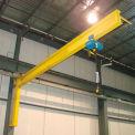 Abell-Howe® Under-Braced Wall Mounted Jib Crane 960015 2000 Lb. Capacity