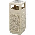 Safco® Canmeleon™ Aggregate Panel, Ash Urn/Side Open, 15 Gallon Tan, 9470TN
