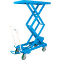 Bishamon® MobiLift™ Double Scissor Lift Table BX-30S 660 Lb. Capacity