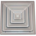 "Speedi-Grille Fixed Cone Ceiling Register SG-1212 FCR 12"" X 12"""