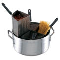 Eagleware® EWPC18 - cuiseur à pâtes en aluminium 4 inserts de s/s
