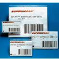 """Porte-étiquettes, 2 """"x 3-1/2"""", effacer, Full Auto adhérant (50 pcs/paquet)"""