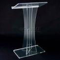 X Acrylic Floor Lectern / Podium
