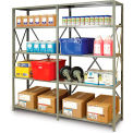 "Metalware Premium Boltless Shelving - 48x24x88"" - Starter Units"