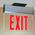 Faraday Lighting Led Exit Signs - Clear-Face Sign - Aluminum Housing