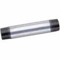 1-1/4 In X 2 In Galvanized Steel Pipe Nipple 150 PSI Lead Free