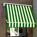 Awntech MS3-FW, Retractable Window Awning 3'W x 2'D x 2'H Forest/White