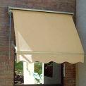 Awntech MS3-L, Retractable Window Awning 3'W x 2'D x 2'H Linen