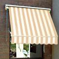 Awntech MS3-LW, Retractable Window Awning 3'W x 2'D x 2'H Linen/White