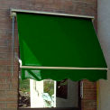 Awntech MS8-F Retractable Window Awning 8'W x 2'H x 2'D Forest