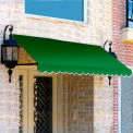 Awntech RR22-3F, Window/Entry Awning 3-3/8'W x 2-9/16'H x 2'D Forest Green