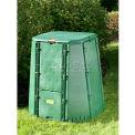 "AeroQuick 187 gal grand Compost Bin w/Base, 37"" L x 37"" W x 43 ""H"