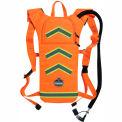 Ergodyne® Chill-Its® 5155HV Hi-Vis Low Profile Hydration Pack, Orange, 2 Liter