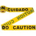"300' x 3"" Yellow ""CAUTION - CUIDADO"" Tape, 1 Roll"