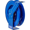 "Coxreels MPL-N-450 1/2""x50' 2500 PSI Heavy Duty Spring Retractable Medium Pressure Steel Hose Reel"