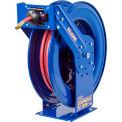 """Coxreels EZ-TSH-3100 3/8""""x100' 300 PSI EZ-Coil® Safety Series Spring Retractable Hose Reel"""