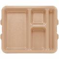 9114CP161 cambro - bac 4 compartiment 9 x 11, Tan, qté par paquet : 24