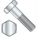 "Hex Cap Screw - 5/16-18 x 1"" - Steel - Zinc CR+3 - Grade 2 - FT - Pkg of 100 - Brighton-Best 403060"