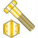 """Hex Cap Screw - 1/2-13 x 1-3/4"""" - Steel - Zinc Yellow - Grade 8 - FT - UNC - Pkg of 50 - BBI 455300"""