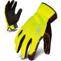 Ironclad® EXO2-HSY-03-M Hi-Vis Utility Safety Gloves, Slip-On, Yellow, 1 Pair, M