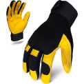 Ironclad® EXO2-MLG2-02-S EXO Mechanics Leather Gloves, Black, 1 Pair, S