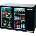 "Glass Door Back Bar Refrigerator BB-G Series, 48""W - BB48HC-1-G-B"