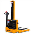 "Blue Giant® Powered Light Duty Straddle Stacker EPS22-62 - 2200 Lb. Cap. - 62"" Lift"