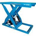 Table élévatrice en ciseaux motorisée Bishamon® OPTIMUS Lift5K72 x cap. de 48 5000 lb, commande manuelleL5K-4872