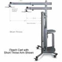 "iTeach Short Throw Projector Arm 28"" To 53-1/2"""