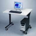 Table mobile Balt® 89847 Brawny, 25-1/2 po - 33-1/2 po de haut x 36 po de large  x 30 po de profondeur, gris