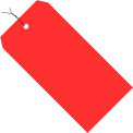 """#8 Red Wired Tag Pack 6-1/4"""" x 3-1/8"""" - 1000 Pack"""