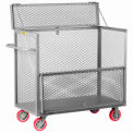 Little Giant® Security Box Truck SB-3048-6PY, 30 x 48